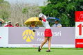 Hee Young Park of South Korea in Honda LPGA Thailand 2016 Royalty Free Stock Photo