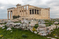 Hefestion in acropolis athens grecce Stock Photos