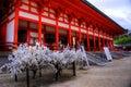Heian Jingū Shrine Stock Images