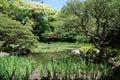 Heian-Jing Shrine Gardens Royalty Free Stock Photo