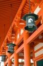 Heian Shrine Royalty Free Stock Photo