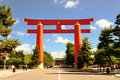Heian Shrine Stock Photography