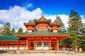 Heian Shrine of Kyoto Royalty Free Stock Photo