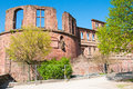 Heidelberg Castle in Germany Stock Images