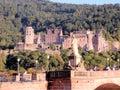 Heidelberg Castle - Heidelberger Schloss - Architectural masterpiece of the renaissance – Germany Royalty Free Stock Photo