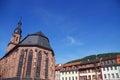 Heidelberg church of the holy spirit Royalty Free Stock Photo
