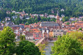 Heidelberg city view of germany Royalty Free Stock Photography
