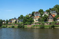 Heidelberg germany panorama view on the city Royalty Free Stock Photography