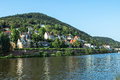 Heidelberg germany panorama view on the city and the castle Stock Photography