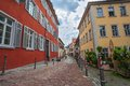 Heidelberg germany street view at city Stock Images