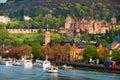 Heidelberg, Germany. View of Renaissance style Heidelberg Castle Royalty Free Stock Photo