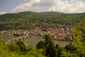 Heidelberg's view from above, Germany Royalty Free Stock Image