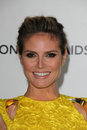 Heidi Klum, Elton John Royalty Free Stock Photography