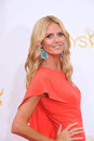 Heidi klum los angeles ca august at the th primetime emmy awards at the nokia theatre l a live downtown los angeles Stock Photos