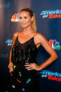 Heidi klum new york sep judge and supermodel attends the post show red carpet for nbc s america s got talent season at radio city Royalty Free Stock Photo