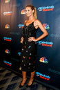 Heidi klum new york sep judge and supermodel attends the post show red carpet for nbc s america s got talent season at radio city Royalty Free Stock Photography