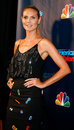 Heidi klum new york sep judge and supermodel attends the post show red carpet for nbc s america s got talent season at radio city Royalty Free Stock Photos