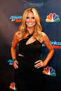 Heidi klum new york sep model attends the pre show red carpet for nbc s america s got talent season at radio city music hall on Stock Photography