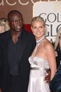 Heidi Klum,Seal Royalty Free Stock Image