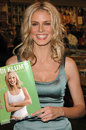Heidi klum at supermodel s appearance book signing of her new book s body of knowledge at border s westwood ca Stock Photos