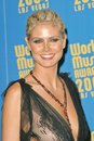 Heidi klum at the world music awards in the thomas mack arena at unlv las vegas nv Royalty Free Stock Image
