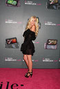 Heidi montag arriving at the t mobile sidekick lx launch event at paramount studios in in los angeles ca on may Royalty Free Stock Photo