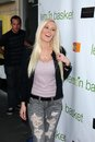 Heidi montag at the lemon basket restaurant grand opening lemon basket west hollywood ca Royalty Free Stock Image