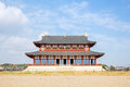 Heijo palace in nara japan daigokuden hall of a unesco world heritage site Stock Image