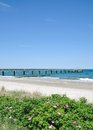 Heiligendamm mecklenburg coast germany pier and beach of at baltic sea western pomerania Stock Photos