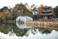 Heillongtan, Black Dragon Pool at Lijiang Royalty Free Stock Photos