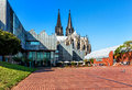 The Heinrich-Boell-Square in Cologne, Germany