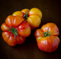 Heirloom Tomatoes Royalty Free Stock Photography