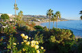 Heisler park landscaped gardens laguna beach california is a beautifully which sits on the bluffs directly above several north Royalty Free Stock Image