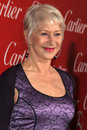 Helen mirren los angeles jan arrives at the palm springs international film festival awards gala at palm springs convention center Royalty Free Stock Image