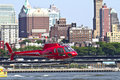 Heli manhattan Stock Photography