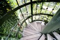 Helical staircase Royalty Free Stock Image