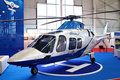 Helicopter AGUSTA-109S GRAND Stock Photography