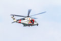 Helicopter AW139SAR Helimer Royalty Free Stock Photo