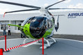 Helicopter Bluecopter Demonstrator by Airbus prototype. Royalty Free Stock Photo