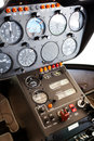 Helicopter instrument Stock Photography