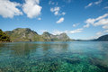 Helicopter Island, El Nido, Palawan, The Philippines Royalty Free Stock Photo