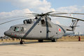Helicopter Mi - 26 T Royalty Free Stock Images