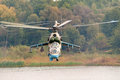 Helicopter Mi-24 Royalty Free Stock Photo