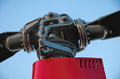 Helicopter Rotor Head Royalty Free Stock Photo