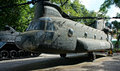 Helicopter at War Remnants Museum Royalty Free Stock Photo