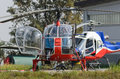 Helicopters Royalty Free Stock Photo