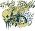 Hell rider Royalty Free Stock Photo