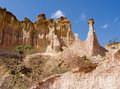 The Hell's Kitchen, Marafa Canyon, Kenya Stock Images