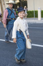 Helldorado days parade las vegas may a participants at the held in las vegas usa on may the annual Stock Photography