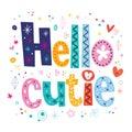 Hello cutie Royalty Free Stock Photo